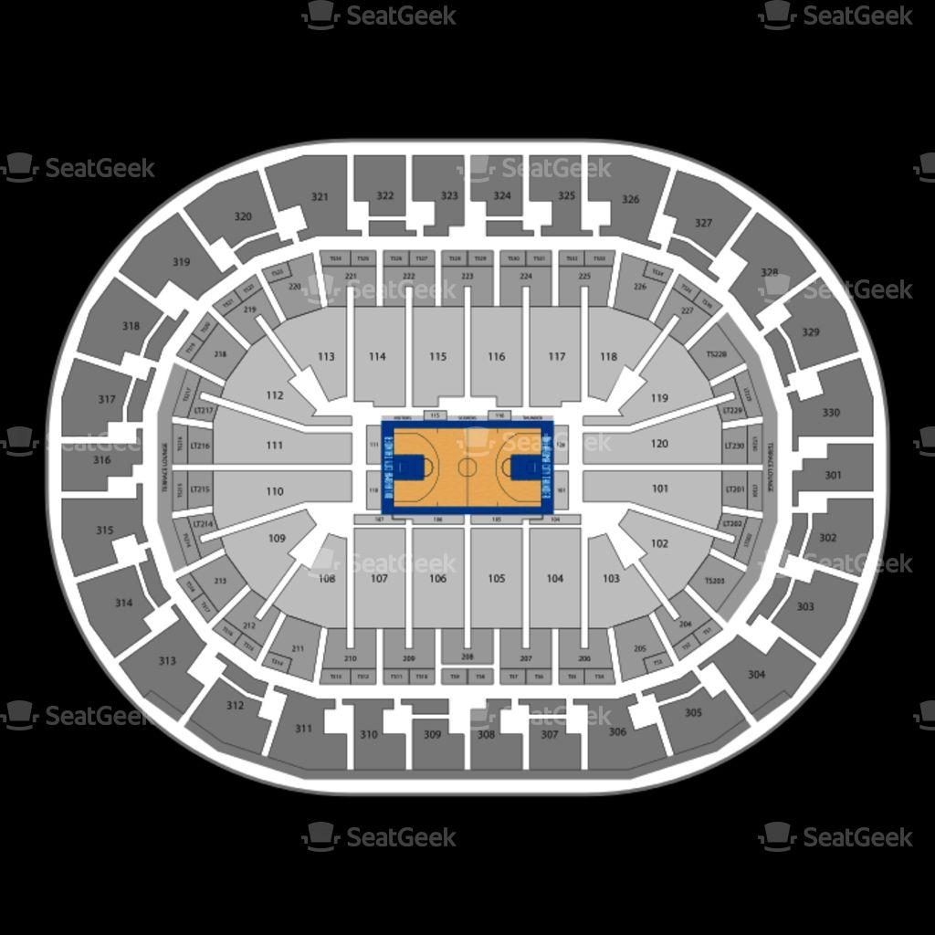 The Most Brilliant Oklahoma City Thunder Seating Chart Chesapeake Energy Arena Chesapeake Arena Seating Charts