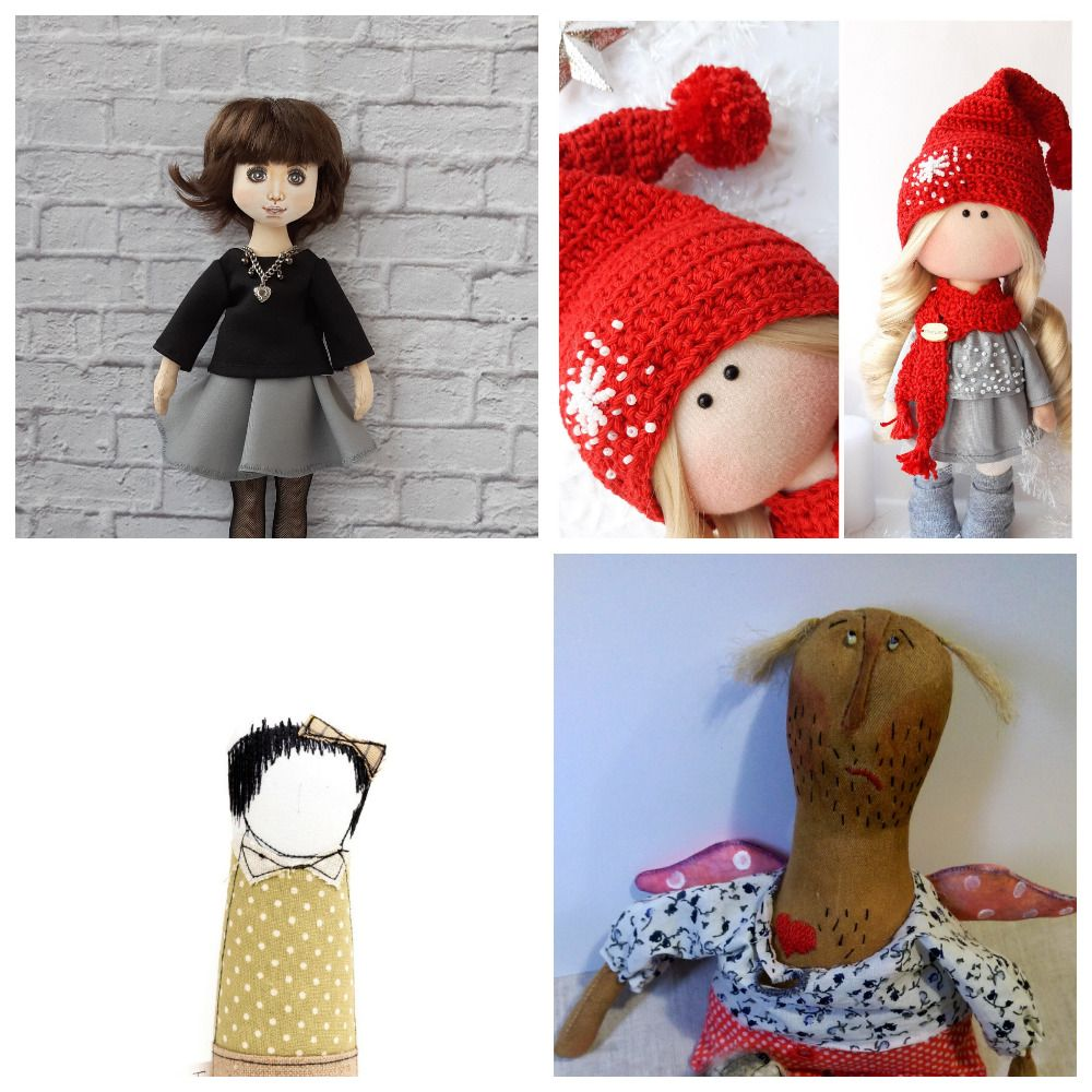 doll knitting patterns free