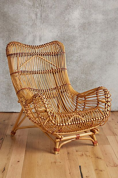 Susila Rattan Chair #anthropologie (This Is THE Coolest Chair. This Is A  Forever