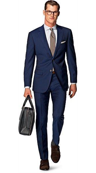 Napolitanos Azul Liso | Ropa de hombre, Trajes azules, Moda para ...