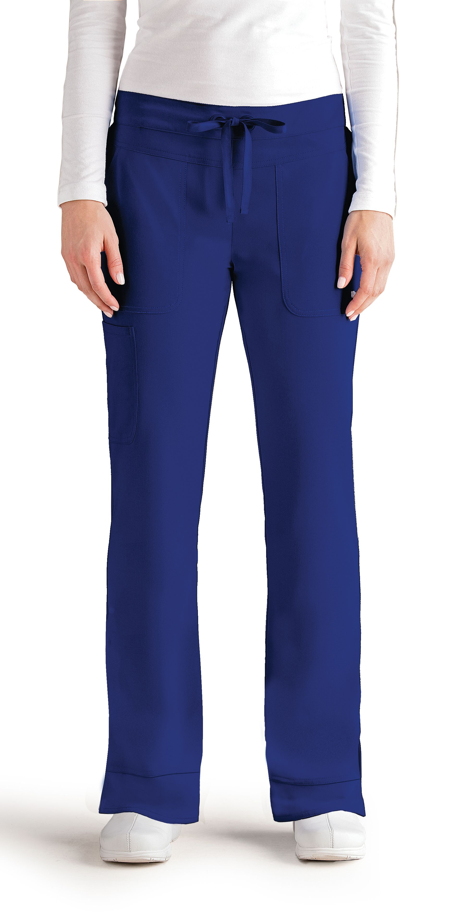 6c7caf81f0a Callie Pant in Electric. 3 pocket, low rise, straight leg, tie front, and  elastic back. Comes in 11 colors!