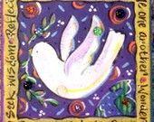Story Border Garden Stone  Peace Dove Story Border Garden Stone  Peace Dove