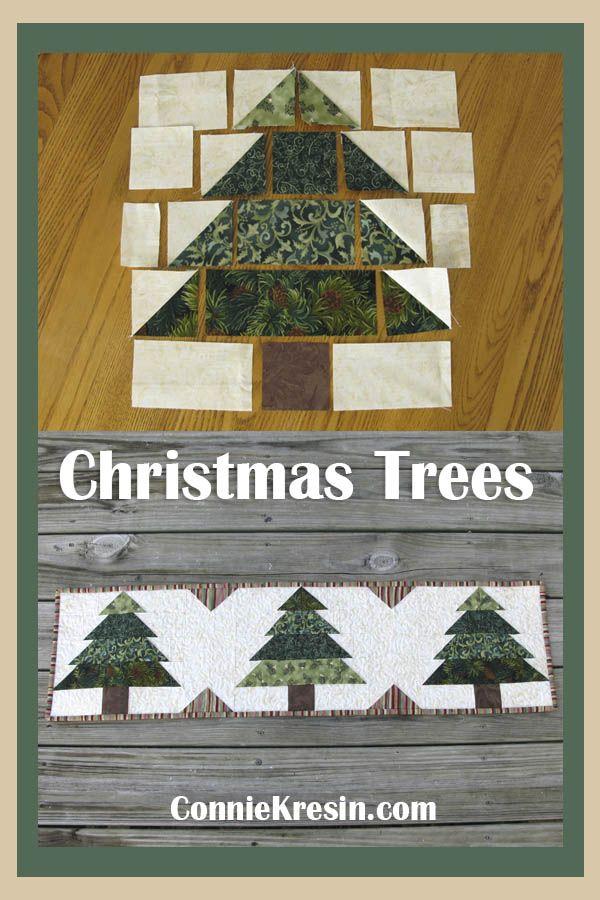 Christmas Tree Runner Tutorial #diychristmasgifts