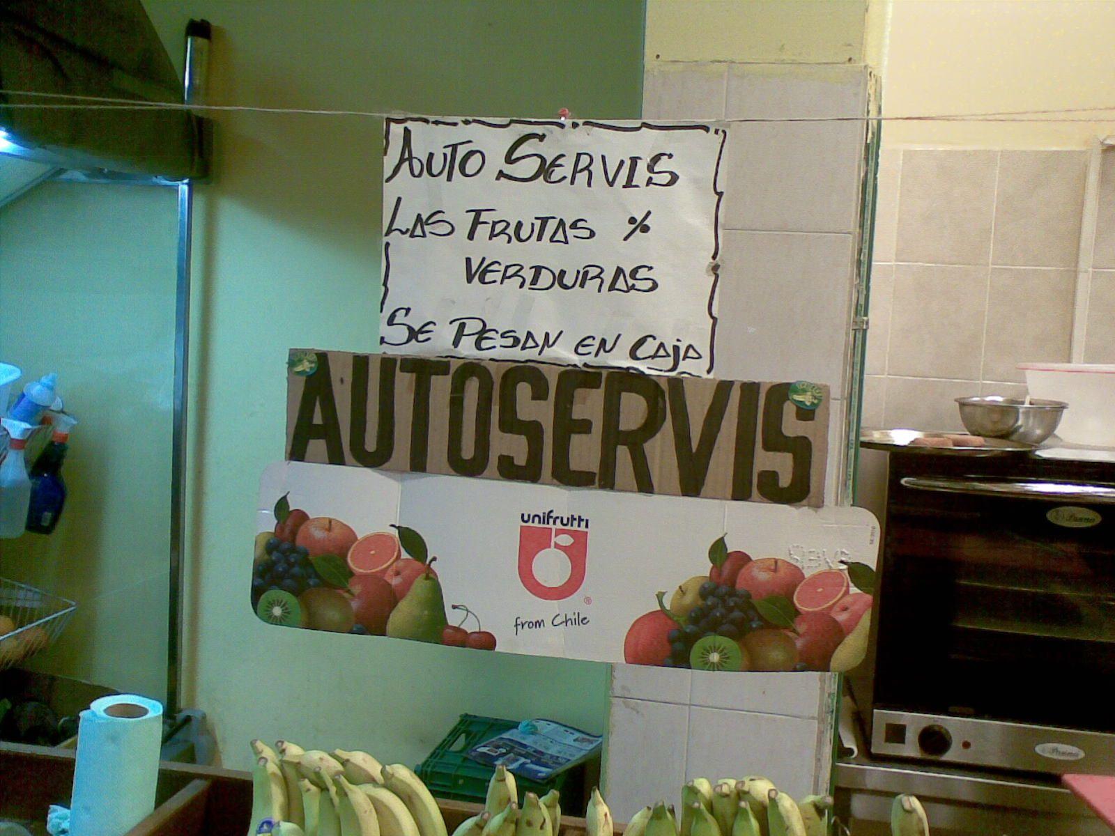 Supermercado chino.......se nota.