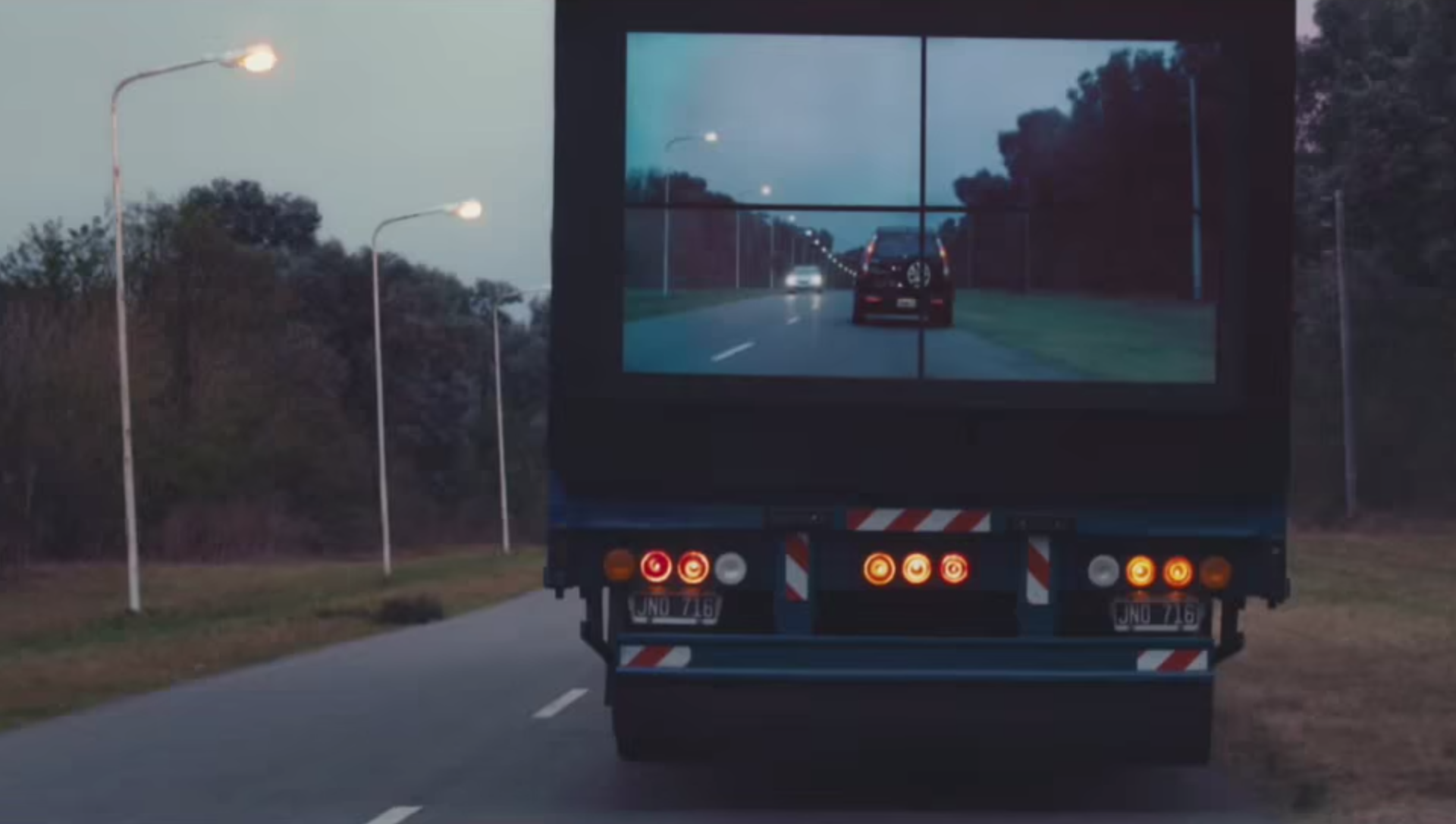 Samsung S Safety Truck Aims To End Blind Spot Behind Big Rigs