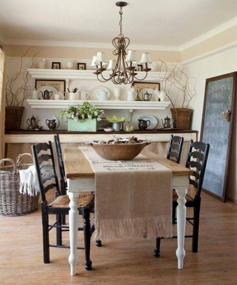 French Country Dining Room Inspiration