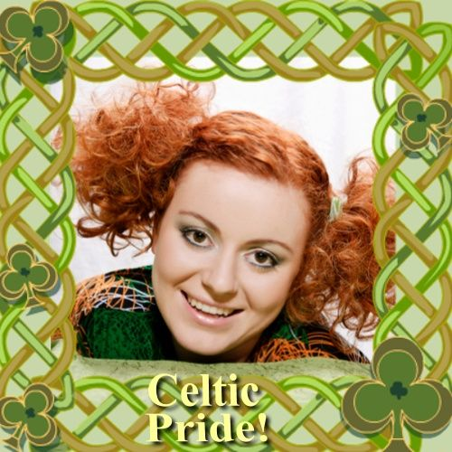 Got Celtic Pride? We do - with this Celtic Knot Photo Frame: http ...