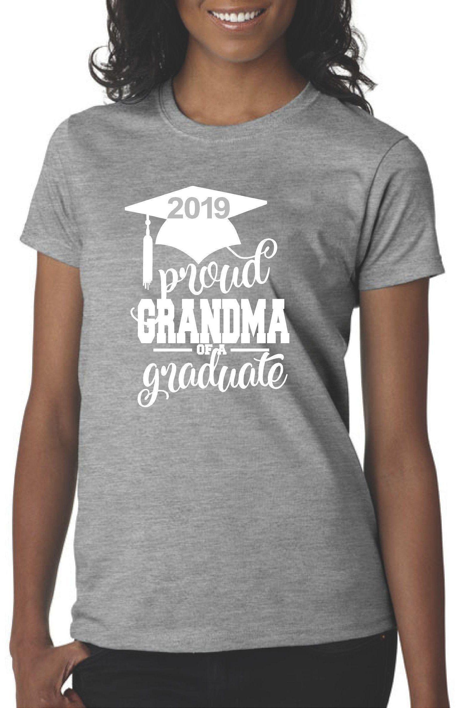 ed4b1f62 Grandma of the Graduate T-shirt / Graduation Shirts for Family and Friends