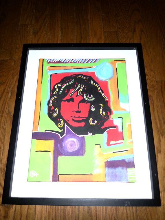 Hey, I found this really awesome Etsy listing at https://www.etsy.com/listing/217402544/abstract-painting-of-jim-morrison-one-of