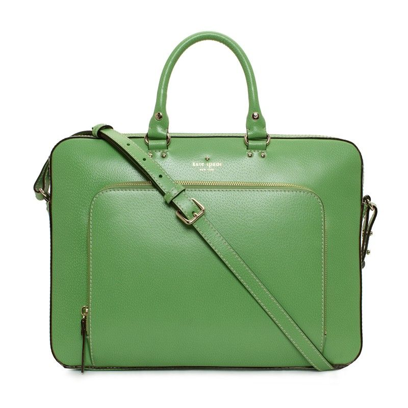 Kate Spade Green Laptop Bag Grand Street Janine