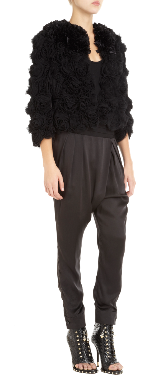 Givenchy Rose Short Jacket