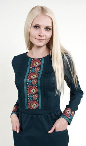 Вишите плаття на довгий рукав арт. 277-16 00 купити в Україні і ... 78b94546ce8d3