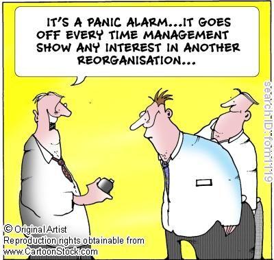 cartoon change management Change management, Manager humor