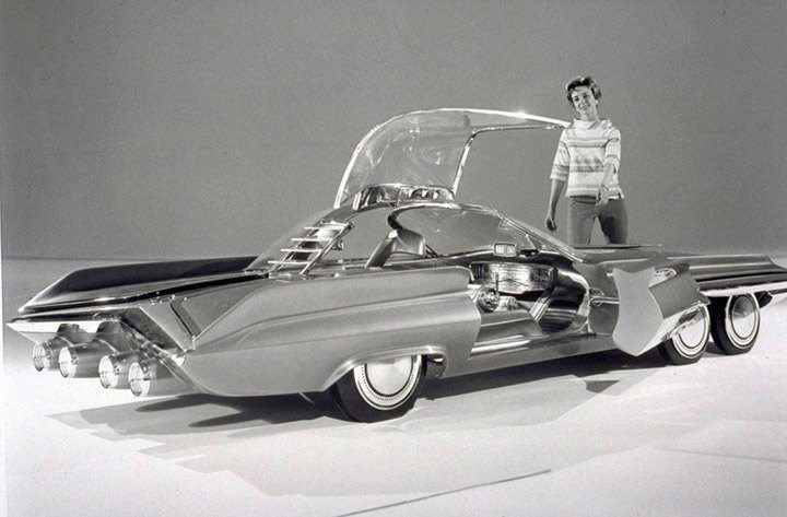 The 1962 Seattle Ite Xxi Ford Dream Car It Was Built For The Seattle S World S Fair Century 21 Exhibition Concept Cars Concept Cars Vintage Vintage Cars