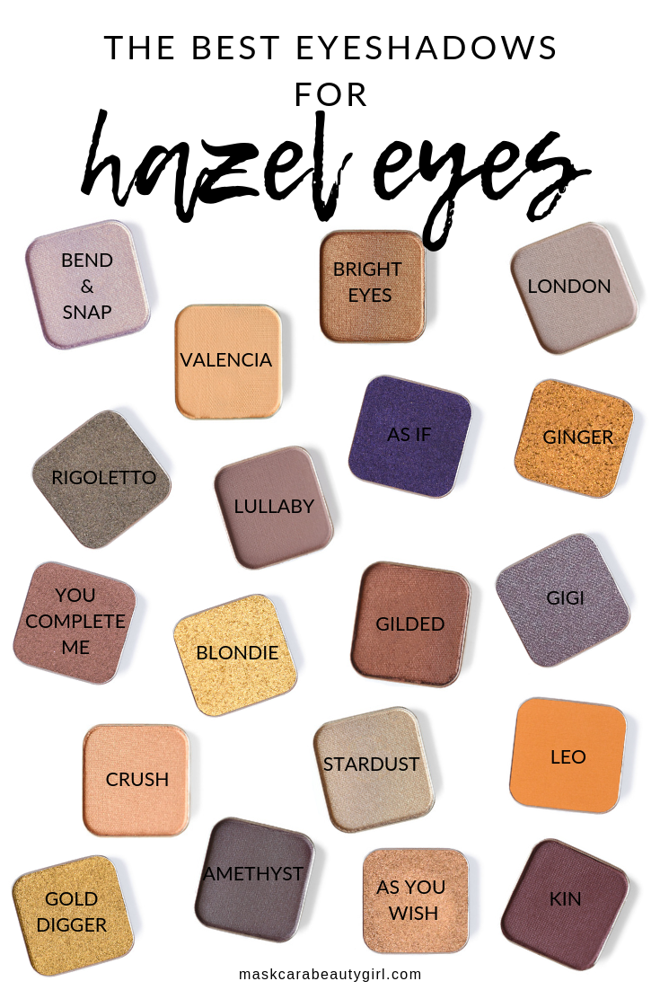 Eyeshadows that will Make Hazel Eyes Pop at maskcarabeautygir… Beauty is the a…