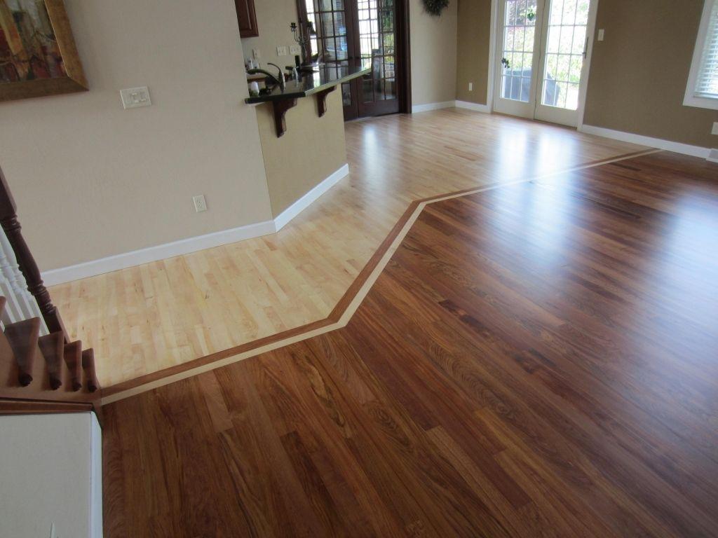 mixing hardwood flooring  Great Examples Of Hardwood