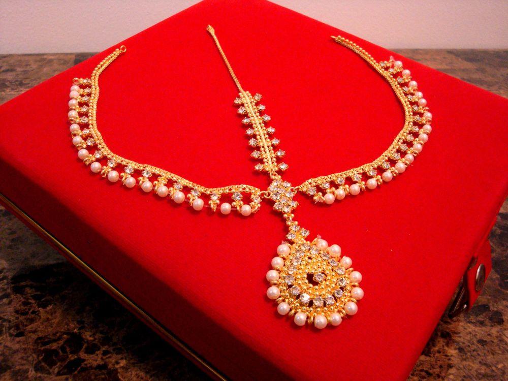 Mehndi Bridal With Matha Patti : Maang tikka indian bridal head chain latest pakistani matha patti