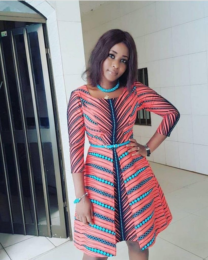 In many of our post we have brought to you different ankara fashion