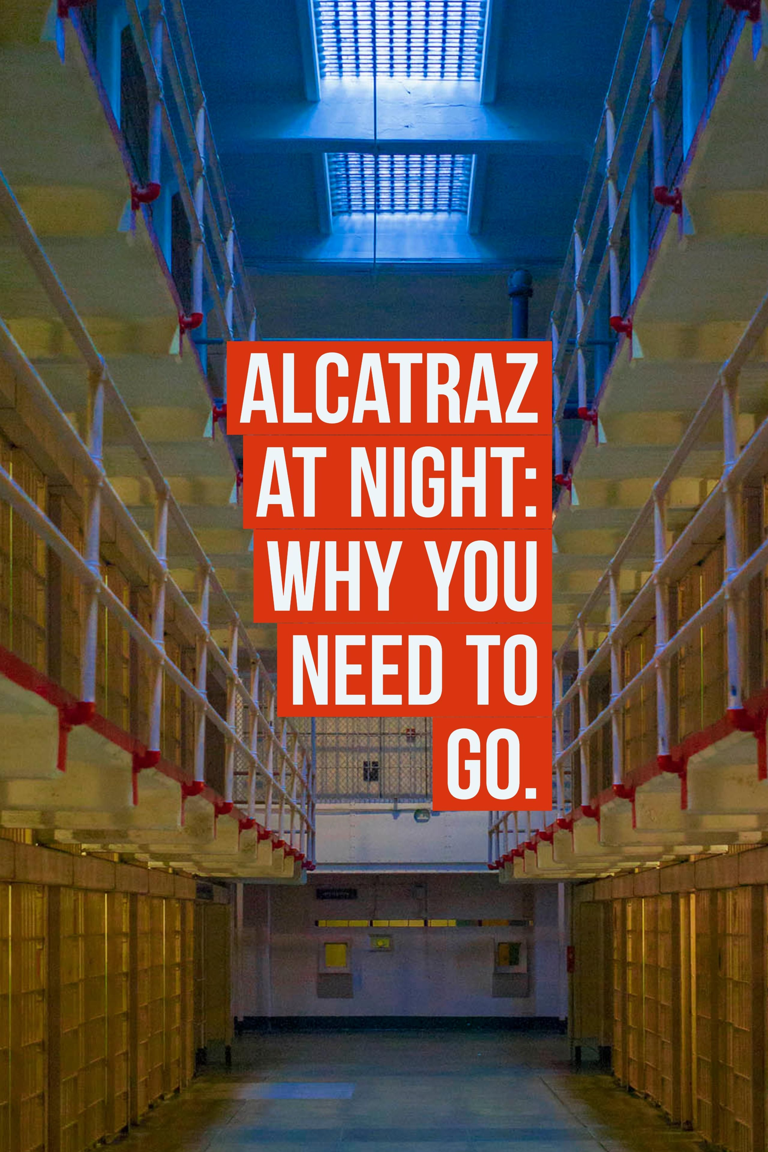 Getting Spooked By Alcatraz At Night My Alcatraz Night Tour Review Alcatraz Alcatraz Tour Alcatraz Prison