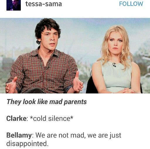 Haha Bellarke @jamieredwood