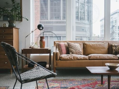 sleek leather sofa perfect merry bright pinterest home rh pinterest com