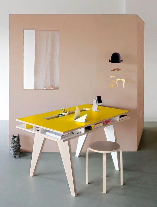 bureau treteau bureau design mobilier bureau mobilier de salon bureau mobile