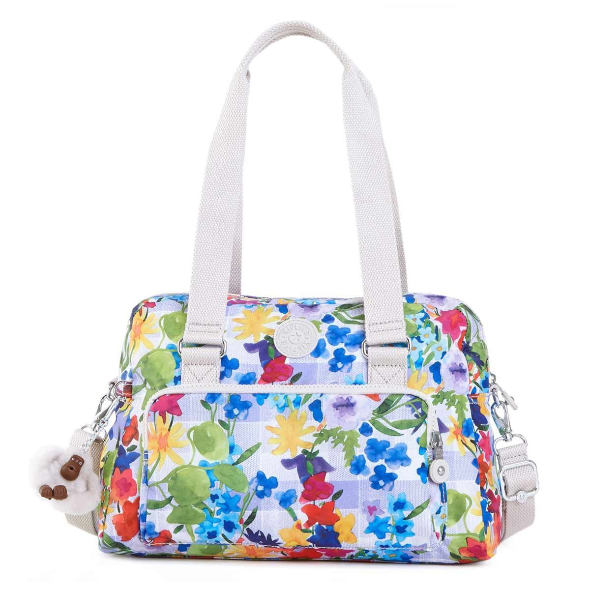 da4a06e0777 Kipling HB6613-943 Women's Dania Picnic in the Park Printed Polyester  Handbag