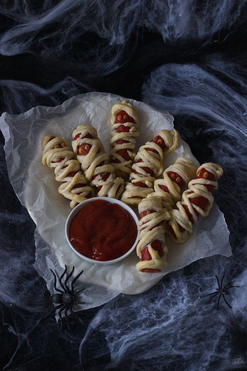 Halloween Wurst Mumien Würstchen im Schlafrock - Sweets & Lifestyle