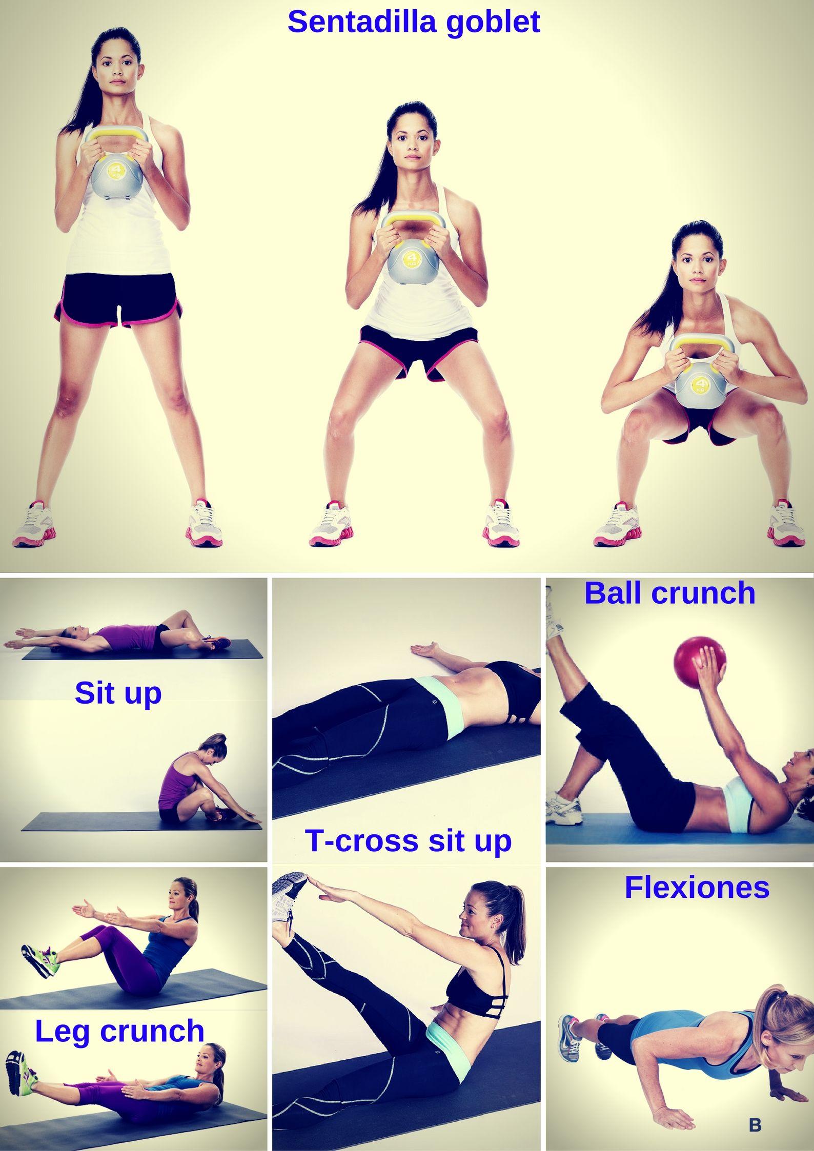 ejercicios de circuitos para bajar de peso