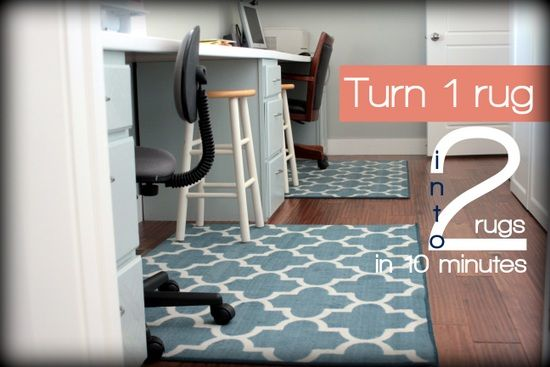 Resize An Area Rug In 10 Minutes With Just Two Simple Tools Vanillajoy Com Area Rugs Diy Diy Tiny House Home Diy