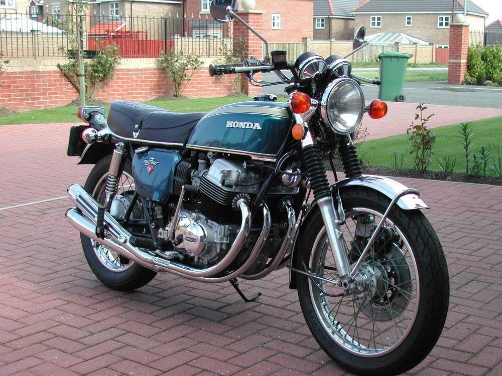 Ebay 1976 Honda Cb750 Four Cb 750 Only 23 000 Miles Classic Bike Beautiful Condition Motorcycles Biker