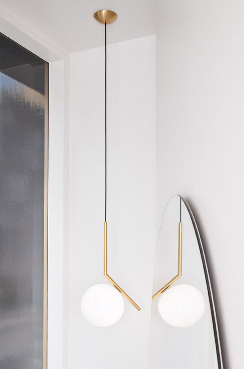 Ic lights s modern pendant light by michael anastassiades flos usa