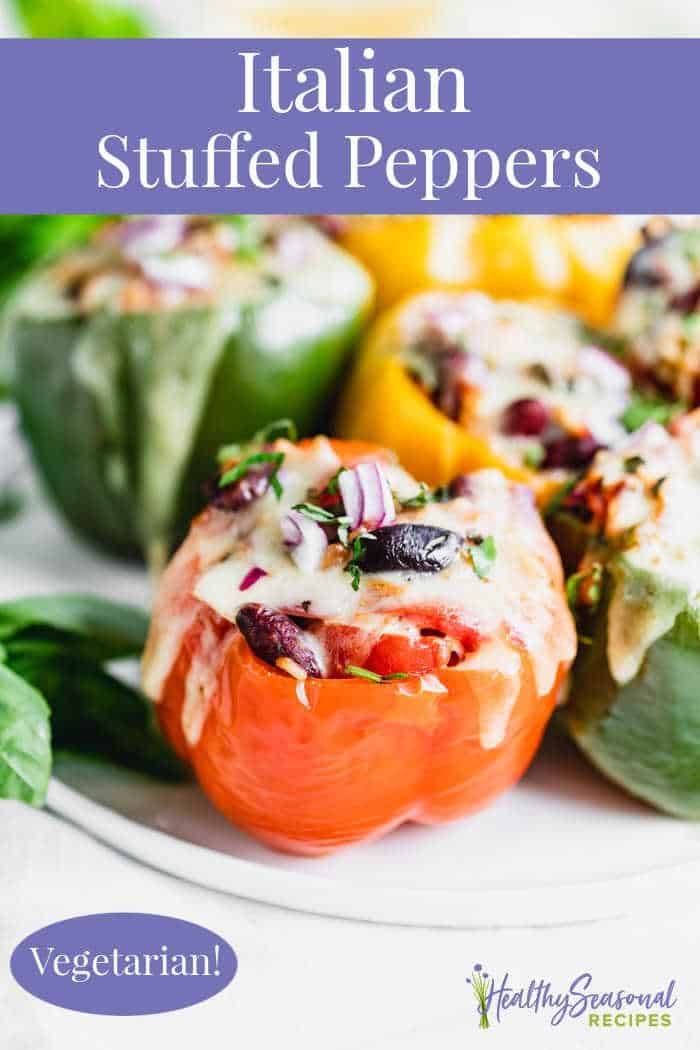 Vegetarian Stuffed Peppers Recipe In 2020 Stuffed Peppers Vegetarian Stuffed Peppers Vegetarian Recipes