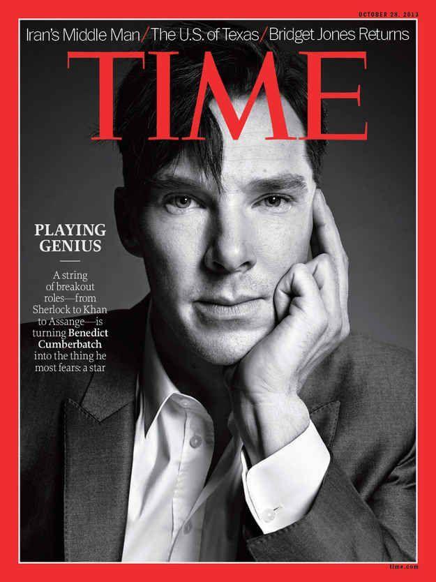Benedict Cumberbatch - ikke bare mmmmmm men også en fed humor