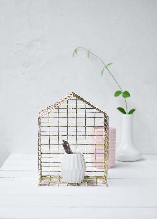 DIY Brass Metal House