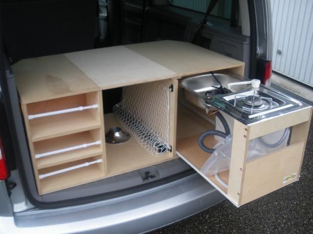 Bildergebnis f r banquette camion amenage - Camion amenage pour cuisine ...