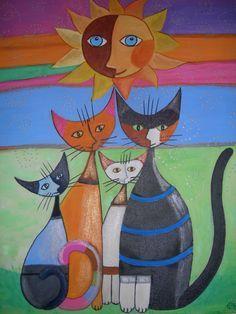 Resultats De Recherche D Images Pour Peinture Sur Bois Patrons Gratuits Francais Funky Art Abstract Art Painting Art Quilts