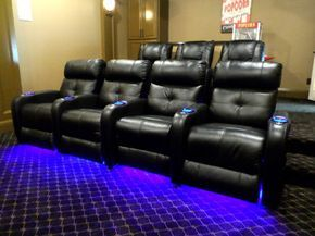 Media Room Chairs By Palliser In Dfw Tx Transitional Home Theater Dallas
