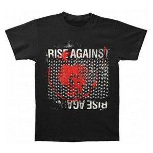 Rise Against Memorial Mens Tee - Rock out with this Rise Against Memorial Mens T-Shirt Size Medium! This product is a Short sleeve, 100% pre-shrunk cotton, Rise Against memorial t-shirt.