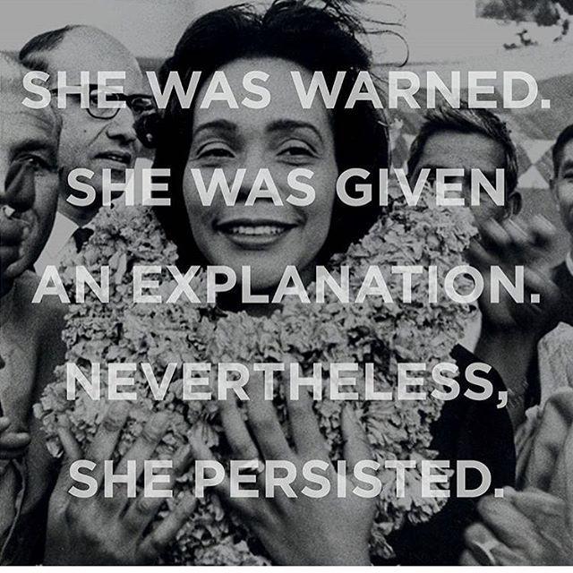 #invinciblewomen #shepersisted