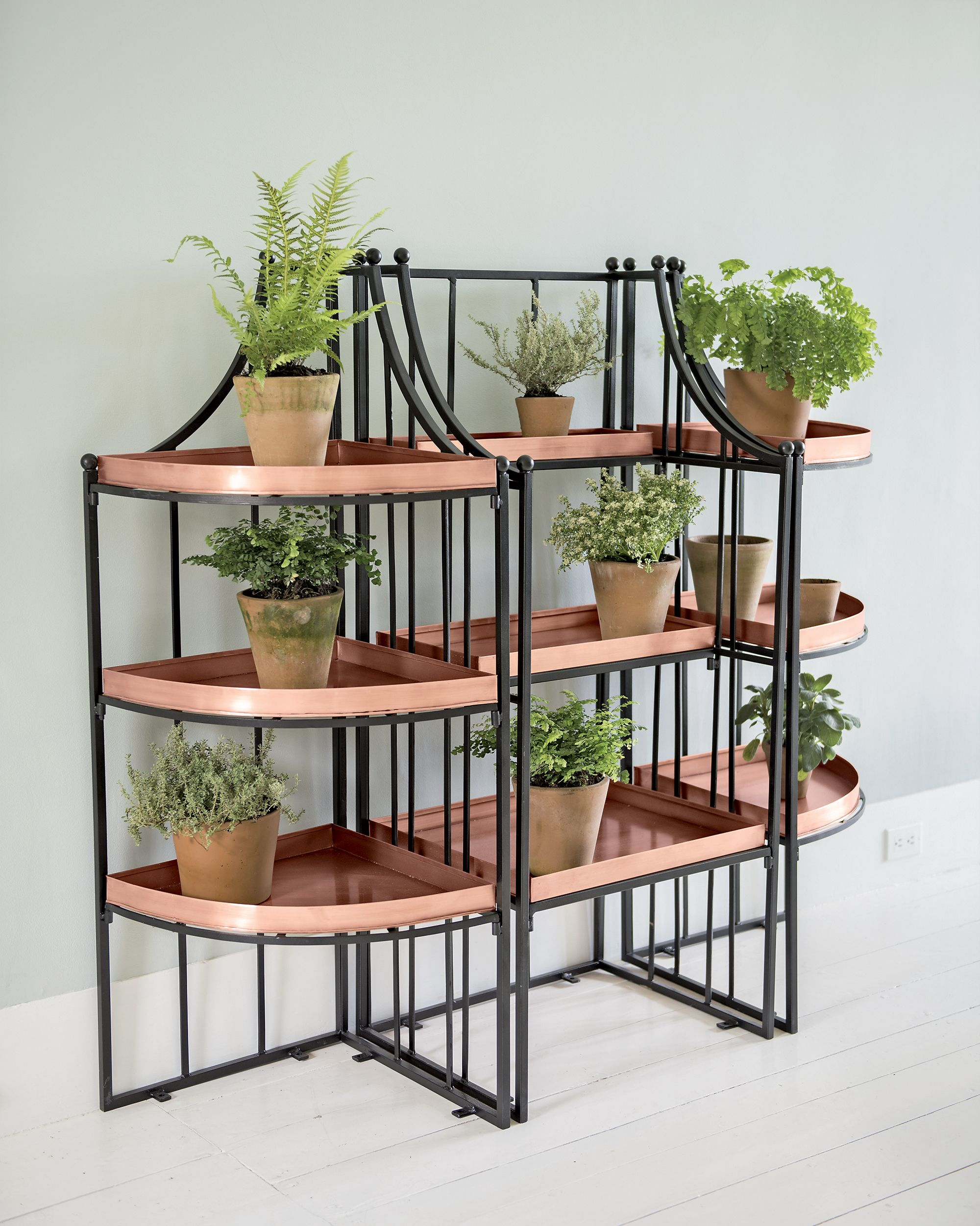 a7a0c3d1fbbe Essex Plant Stand Set with Trays | Products | Corner plant, Plants ...