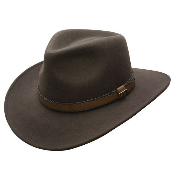 1f47093e9ab Outback Creek Crushable Wool Hat