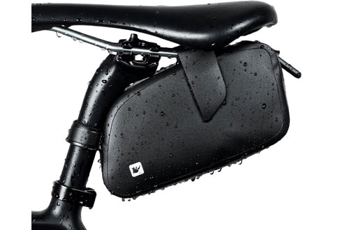 Bike Seat Bag Black Conquer Wedge Bicycle Saddle Bag