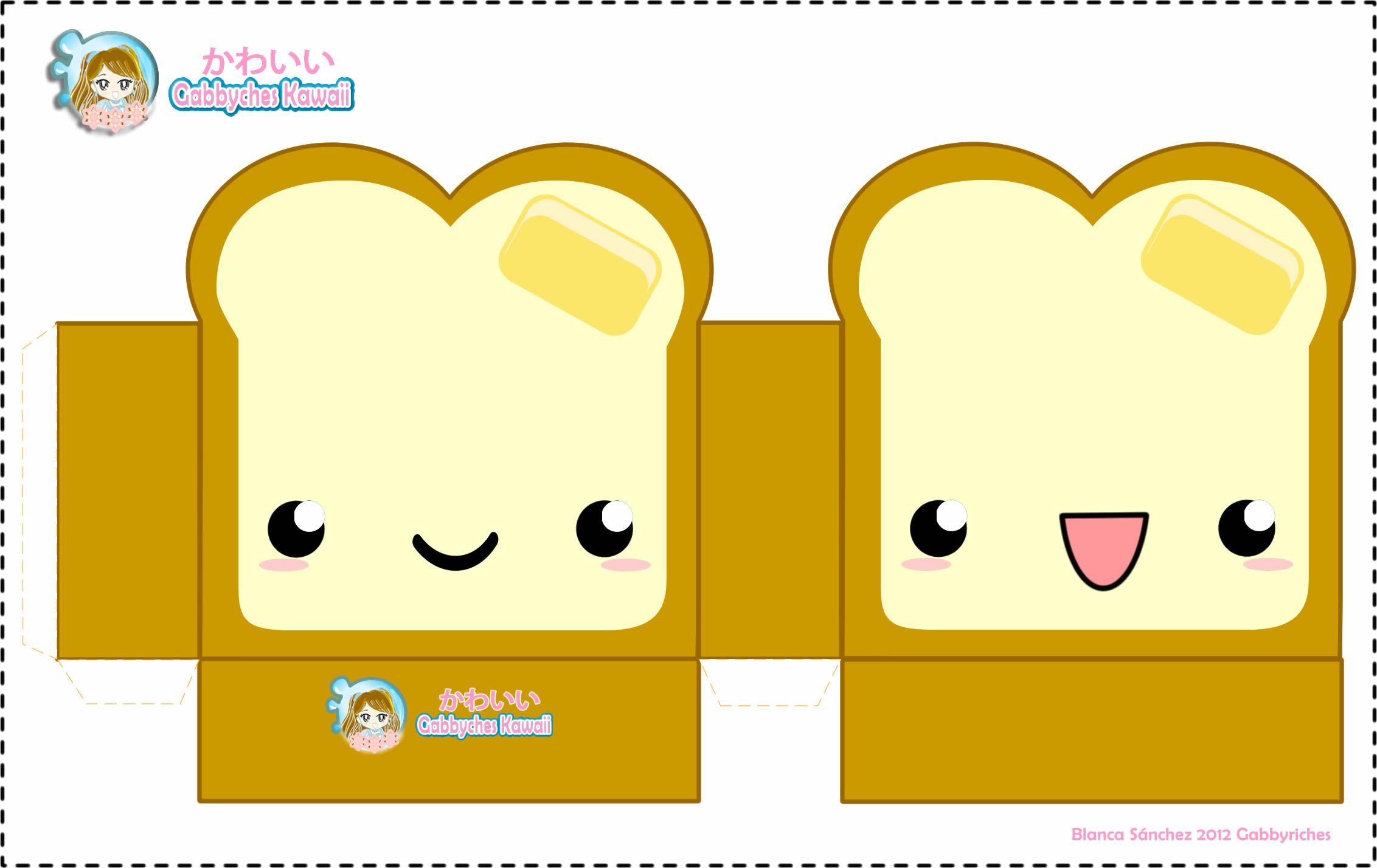 Caja De Pan Cajas De Pan Cajas Imprimibles