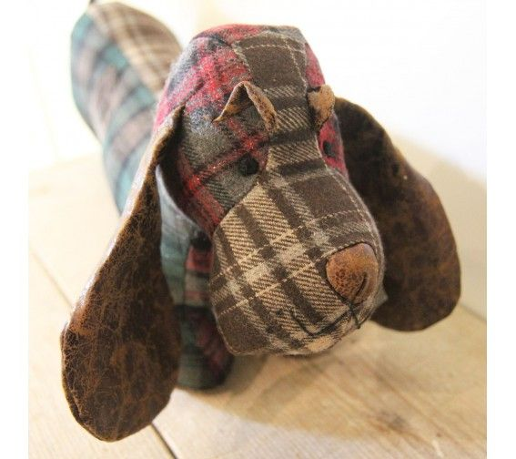 Sia Tartan Dog Patch