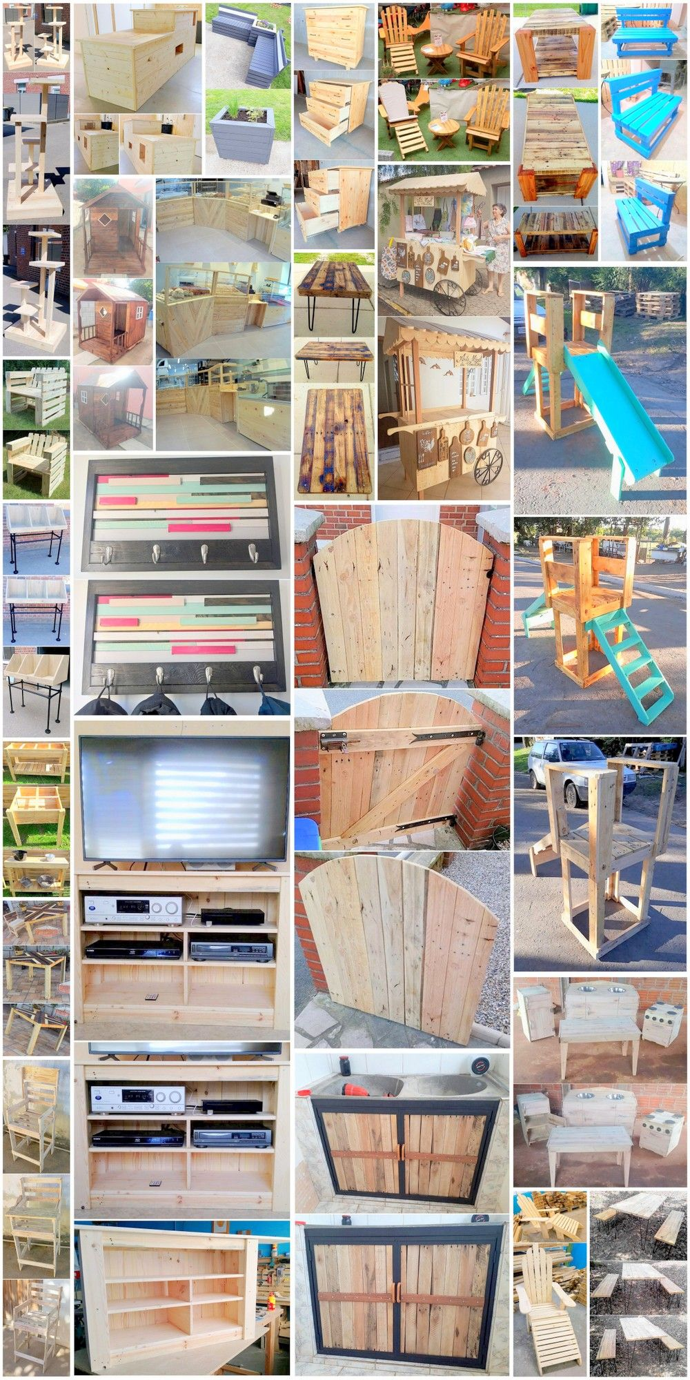Easy Diy Furniture Ideas With Pallets Easy Pallet Projects And