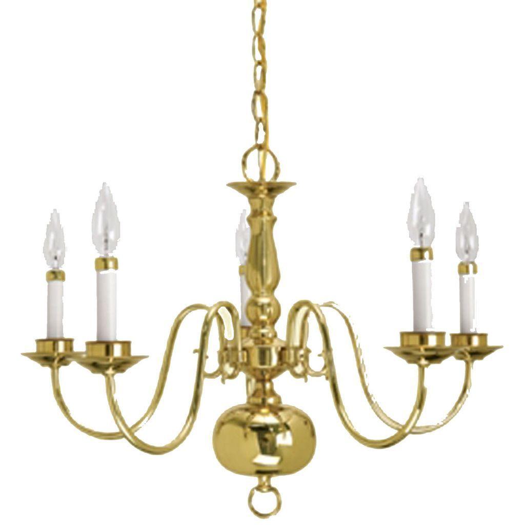 Crown Lighting Traditional 5 Light