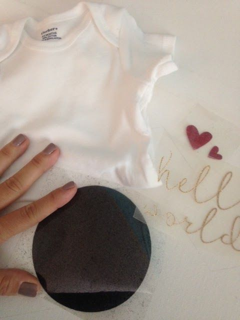 bb094371 Secret to Layering Glitter Heat Transfer Vinyl (without Subtracting!) ~  Silhouette School