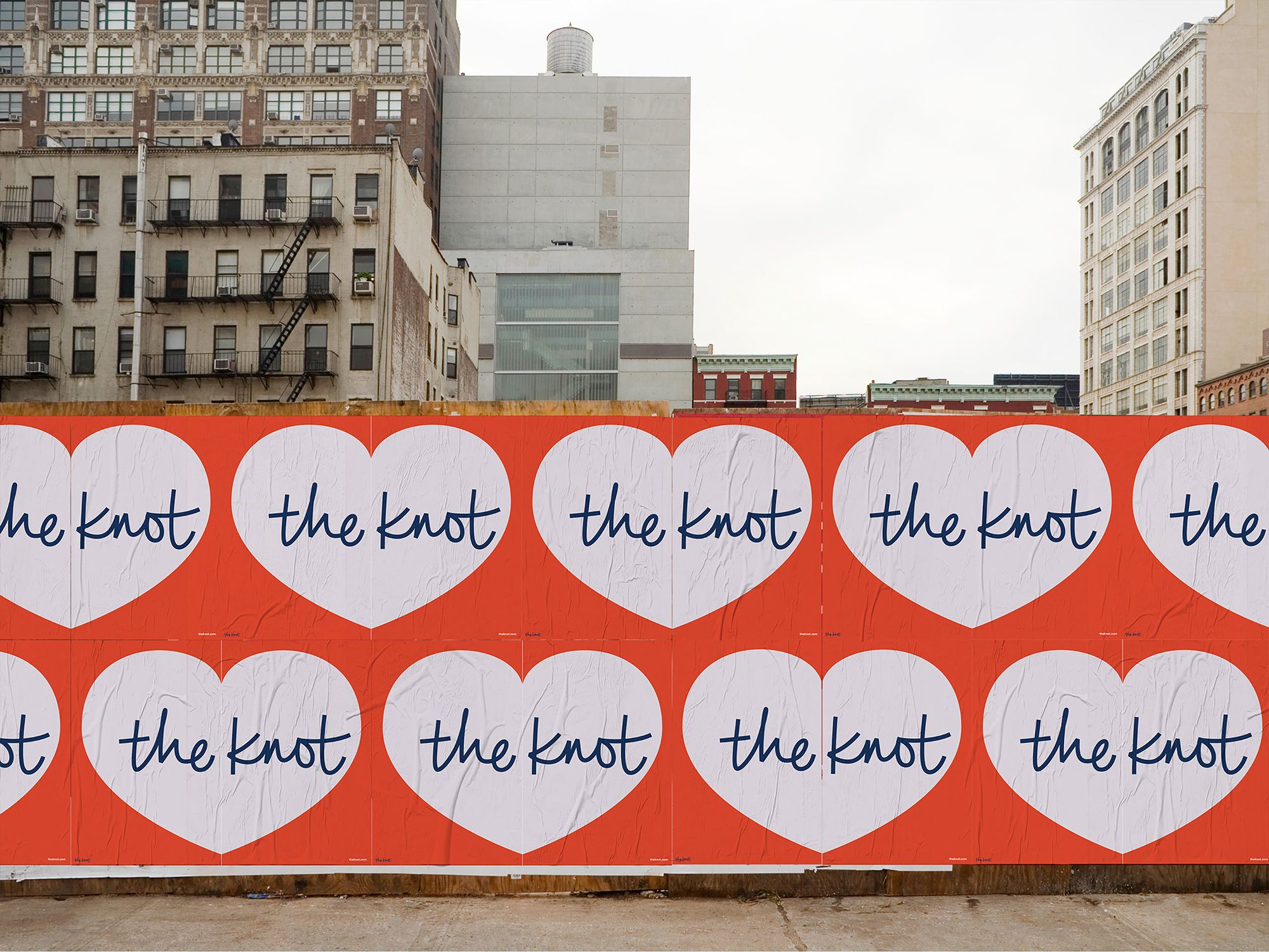 New Logo and Identity for The Knot by Pentagram Word