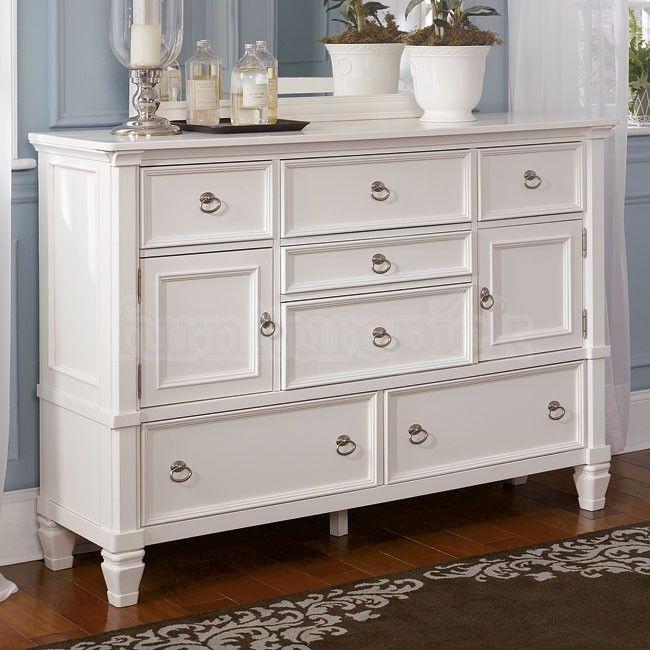 Prentice Dresser With Doors White Dresser Bedroom Shabby Chic